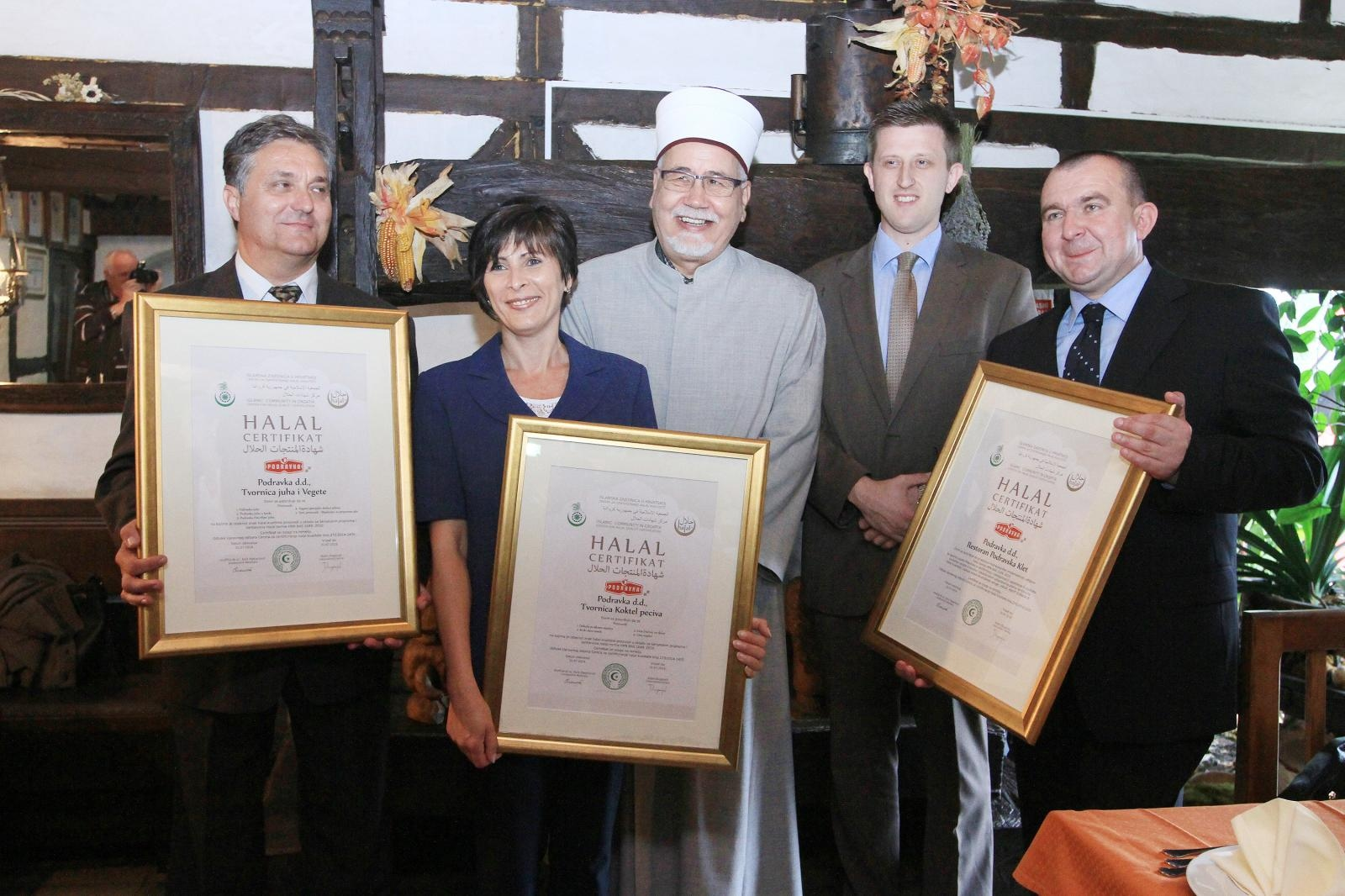 Halal certifikati - Koprivnica, Hrvaška Vir:Pixell