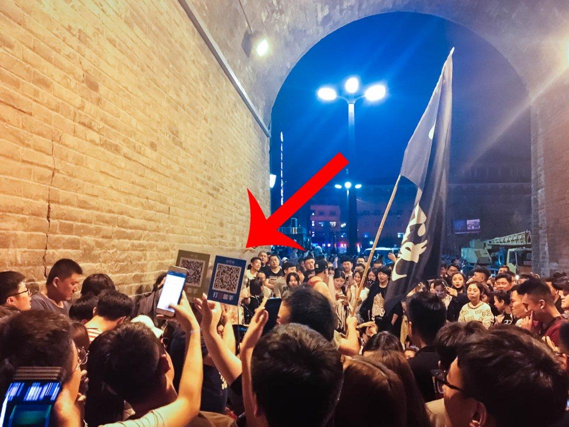 Kitajska - podarjanje denarja glasbenikom na ulici preko kode Vir:Business Insider, Harrison Jacobs