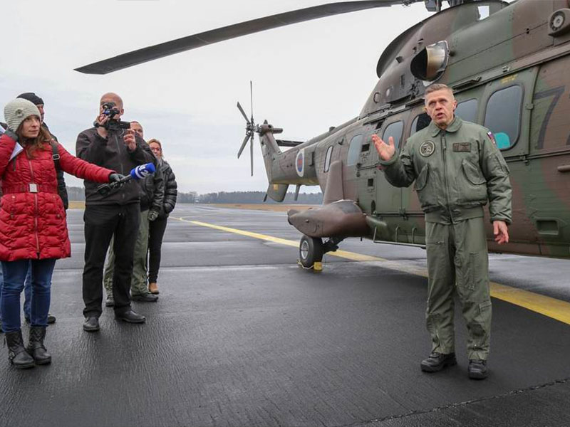 Helikopter / Slovenska vojska