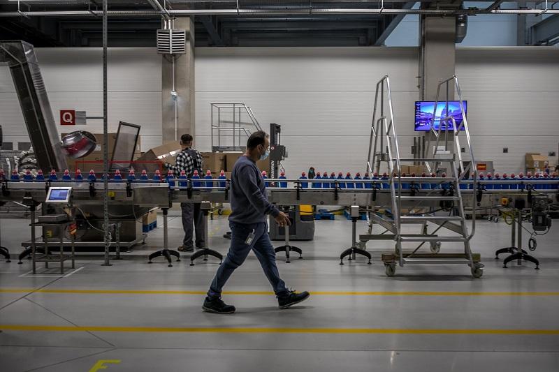 Tovarna Henkel, delovna hala Vir:Twitter