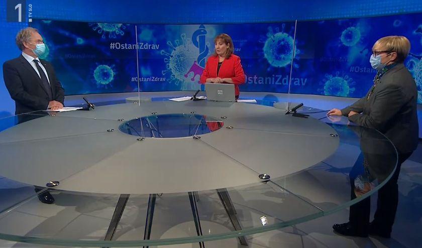 Aleš Hojs in Nataša Pirc Musar  Vir:RTV SLO