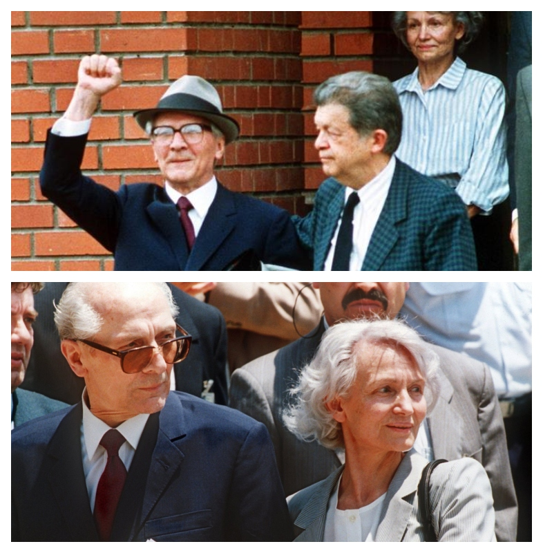 Honecker Erich in Margot