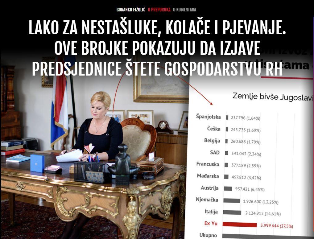 Hrvaška Predsednica - Telegram