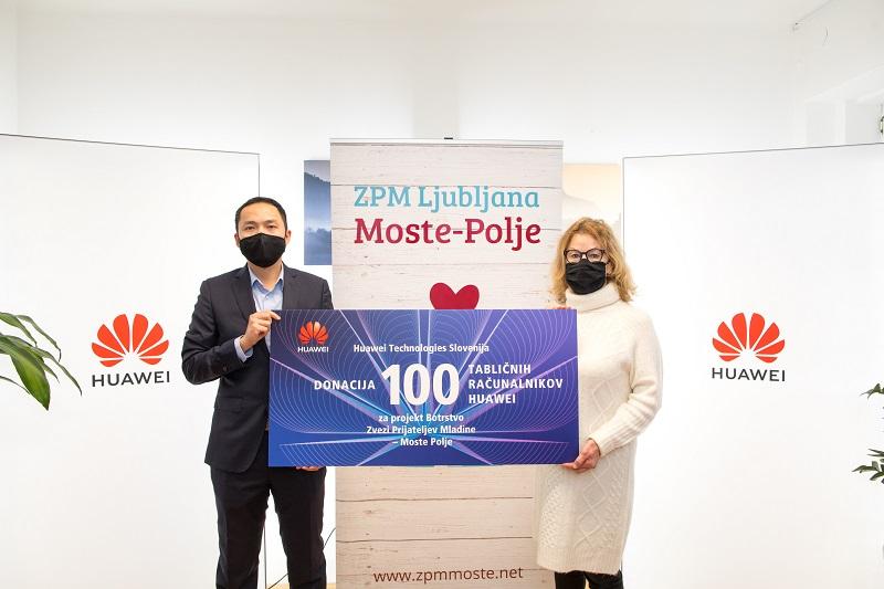 Huawei je doniral tablice