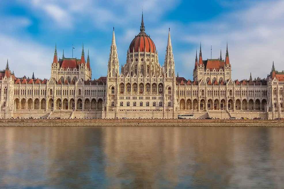 Madžarski parlament  Vir: Twitter