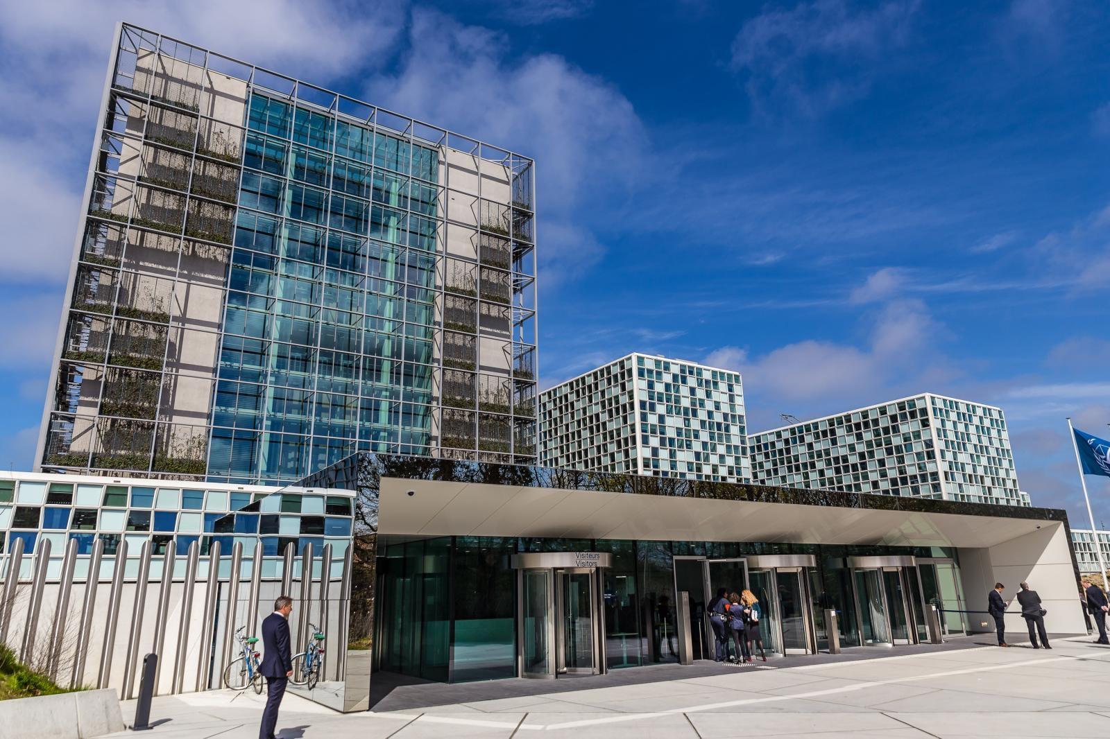 Mednarodno kazensko sodišče (ICC) v Haagu Vir:Pixell
