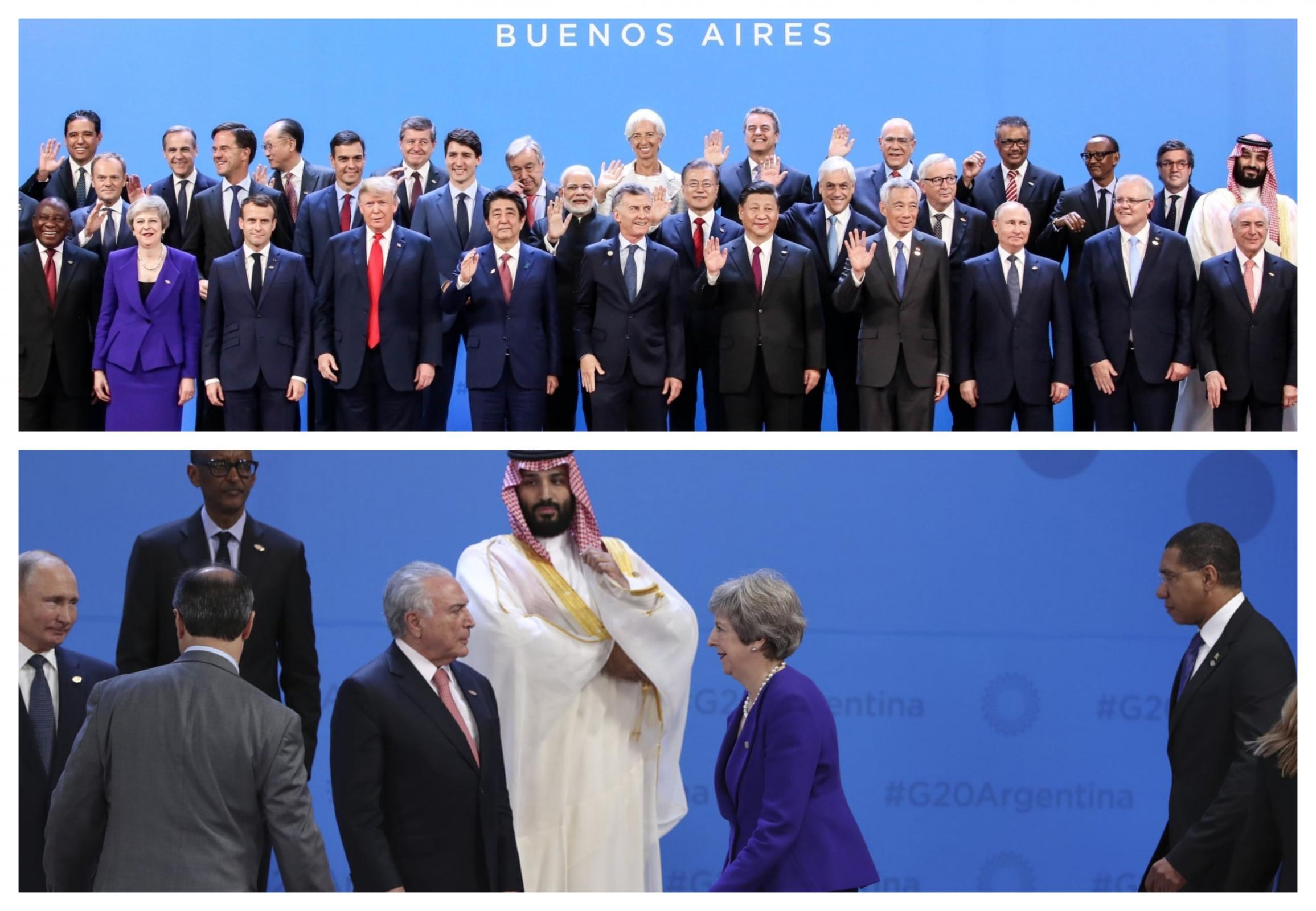  Svetovni voditelji so bin Salmana ignorirali in odrinili na rob vrha G20. Vir: Pixsell 