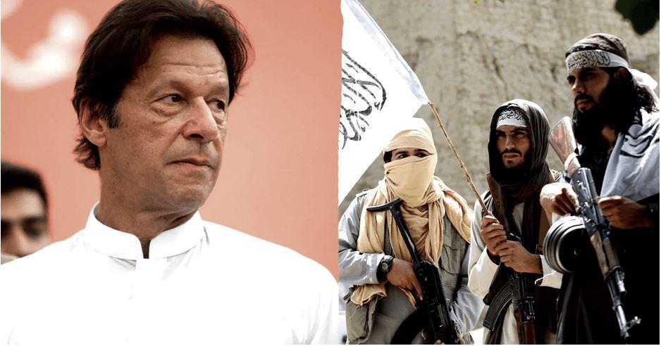 Imran Kan in talibani. Vir: Twitter