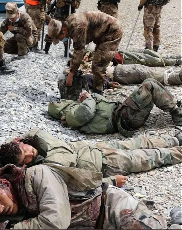 Indijski vojaki na Himalaji