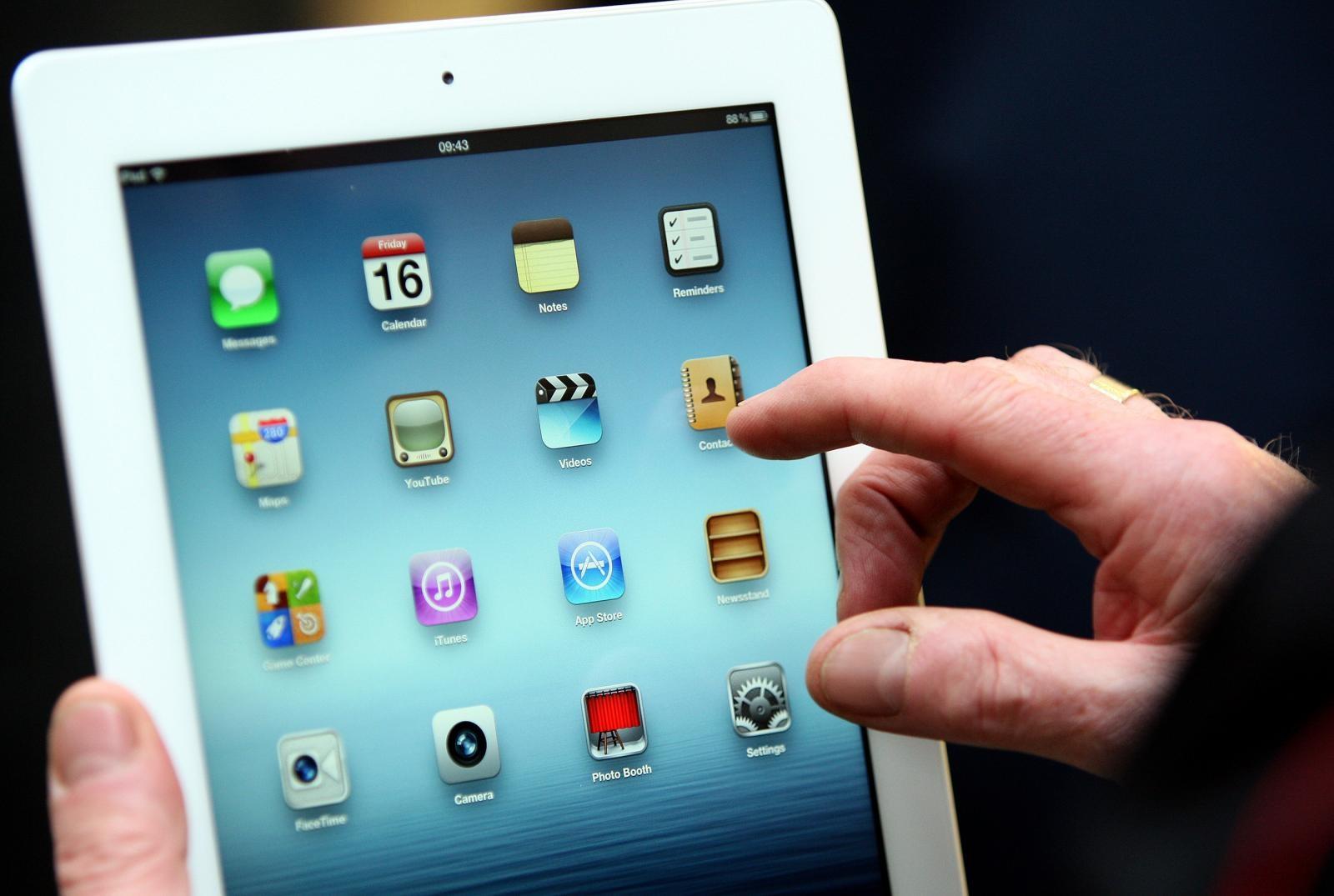 iPad Vir:Pixsell