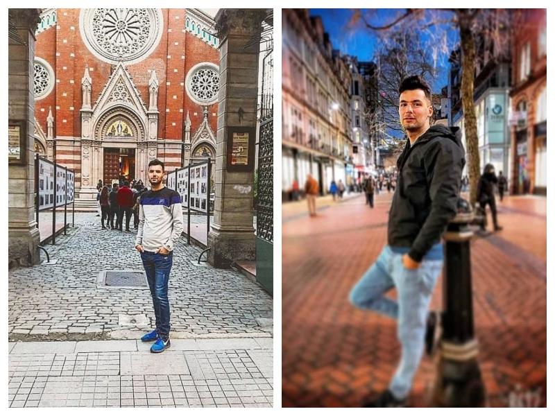 Iranec ki je šel preko Slovenije