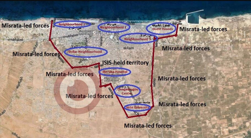 Isis v Libiji danes