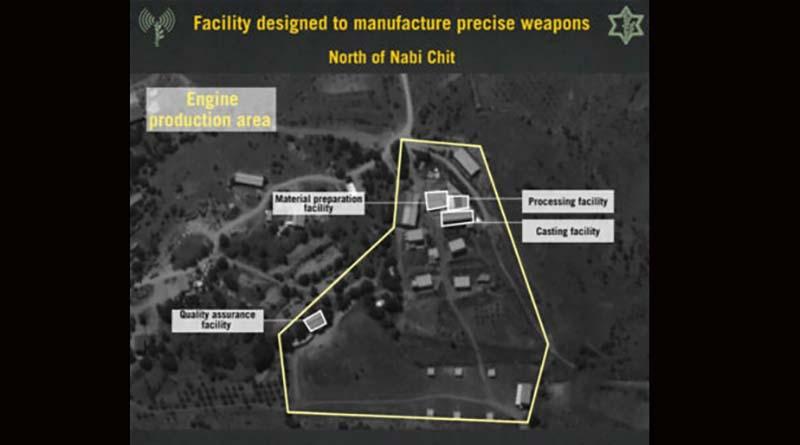 Tovarna za projektile - Libanon