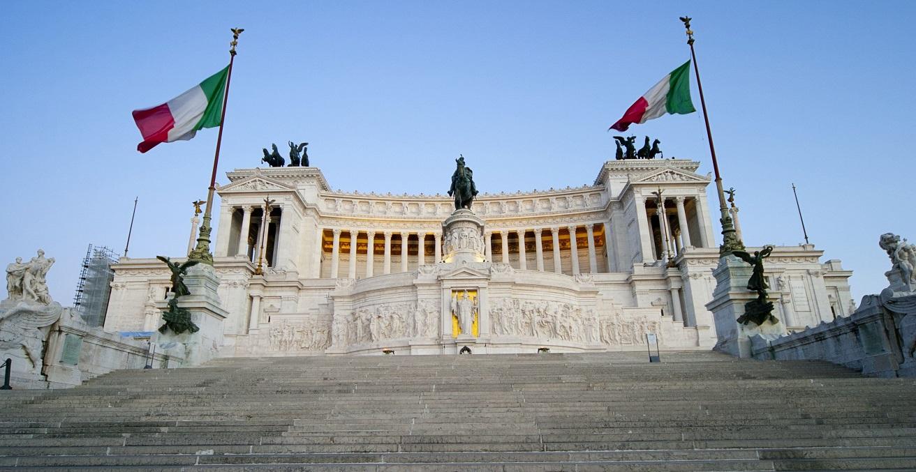 Italijanski parlament  Vir:Twitter