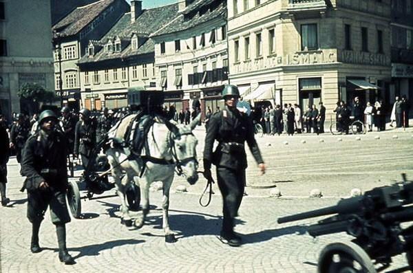 Italijanski vojaki v Ljubljani