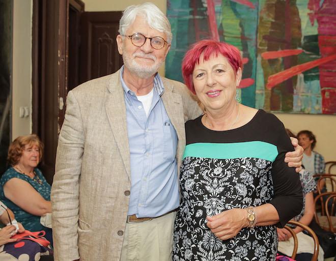 Ivo Svetina in Aksinja Kermauner Vir:Portal Plus