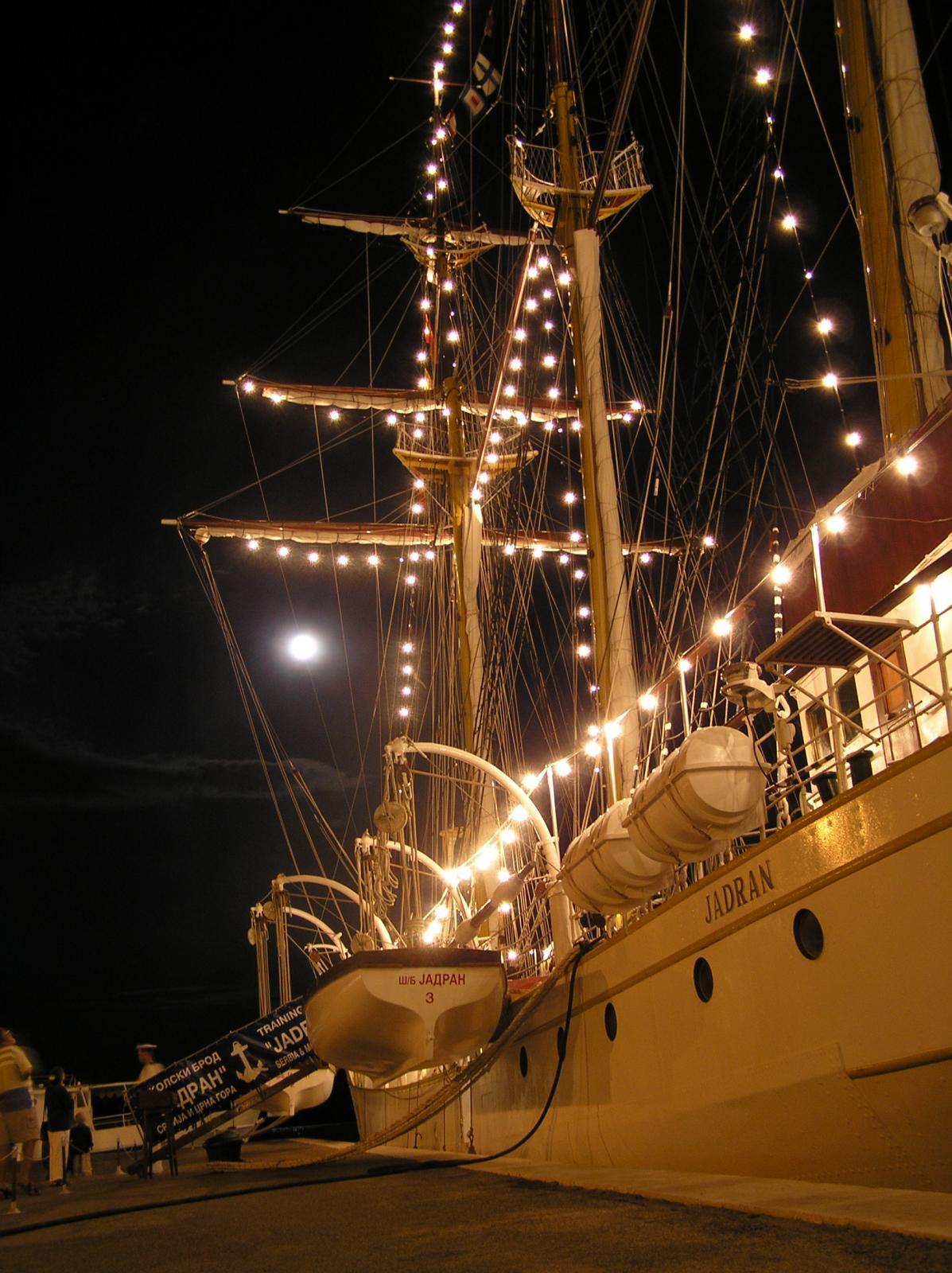 Jadran - luči
