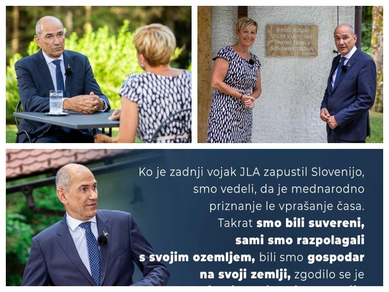 Janez Janša v intervjuju za RTV SLO