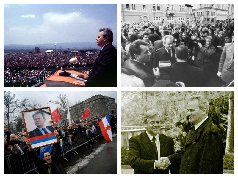 Slobodan Milošević - mitingi