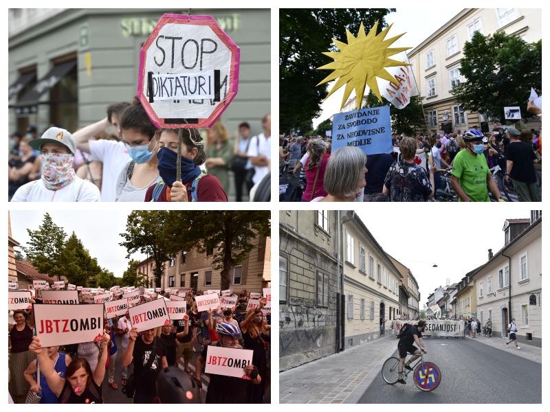 Protivladni protesti - petnajstič