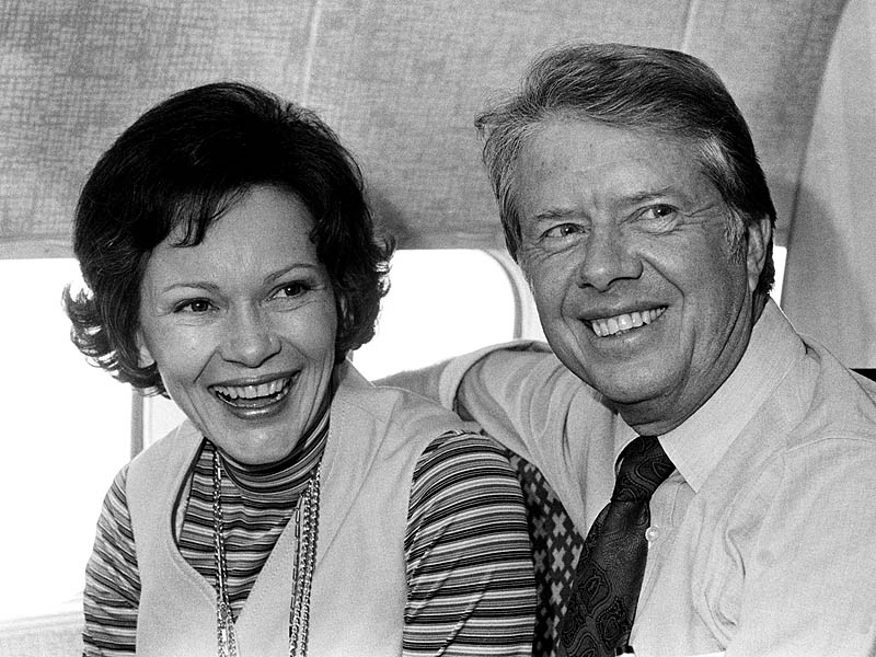 Jimmy in Rosalynn Carter