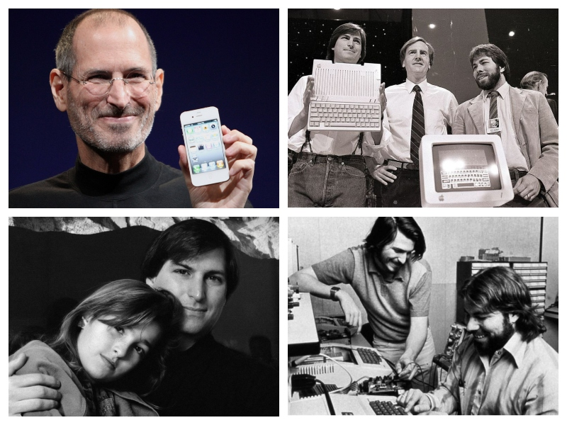 Steve Jobs, Lisa, prvi računalniki in Steve Wozniak (Spodaj desno)