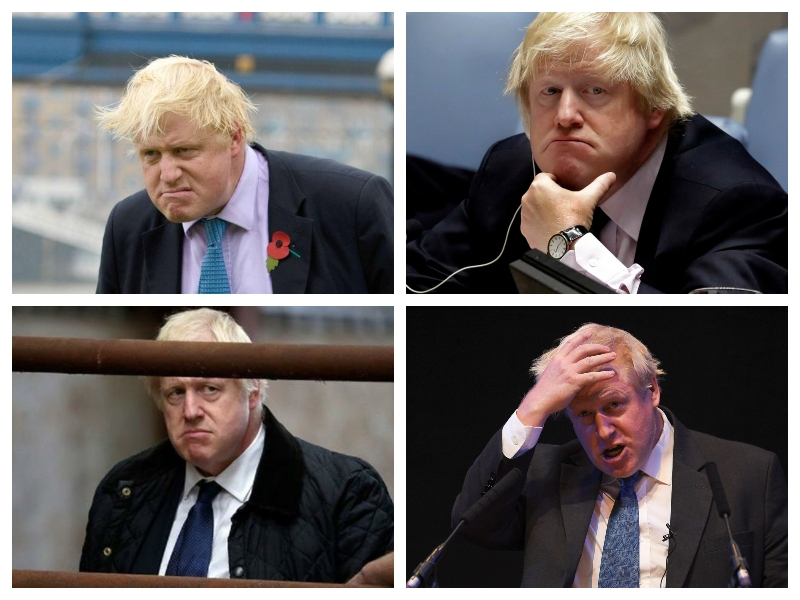 Boris Johnson, štiri podobe