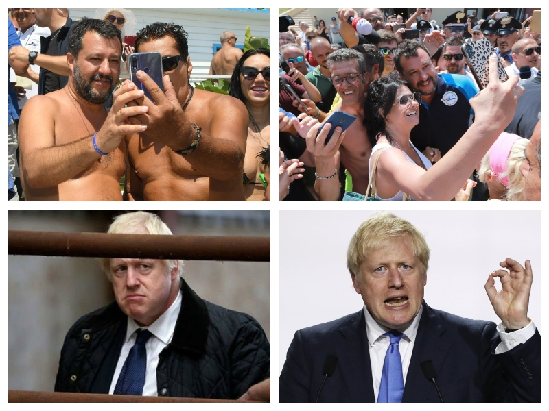 Salvini in Johnson