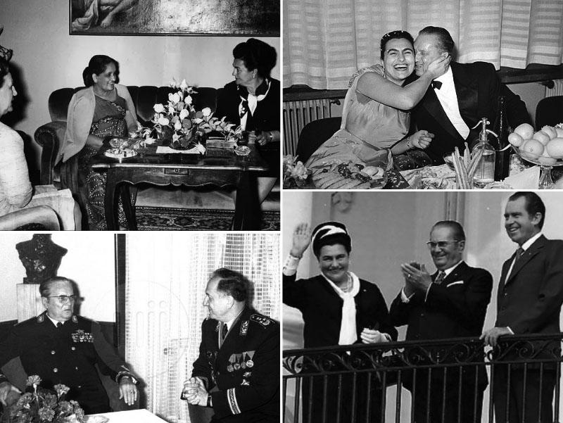 Jovanka in Josip Broz Tito