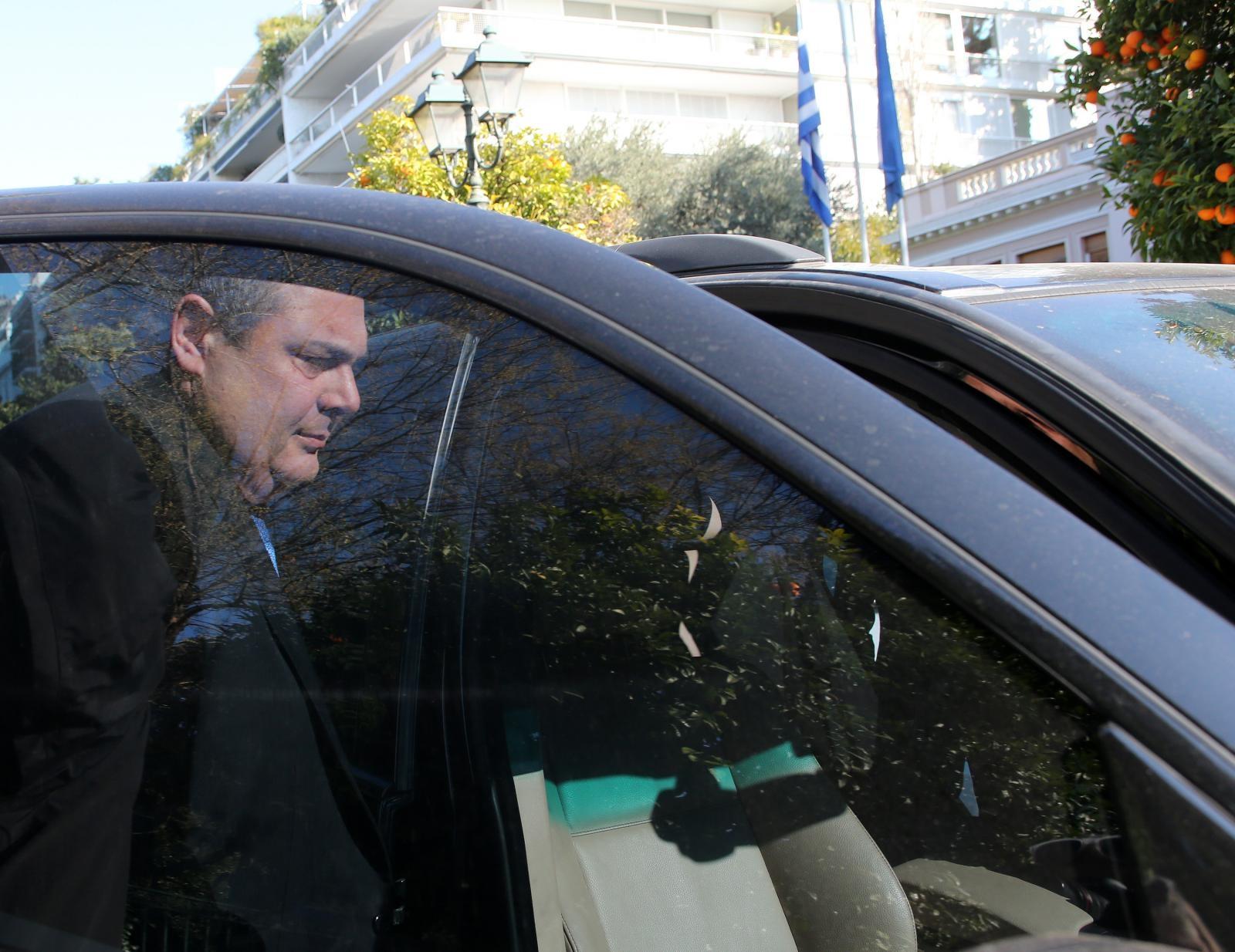 Kamenos - odhod iz grške vlade Vir:Pixsell