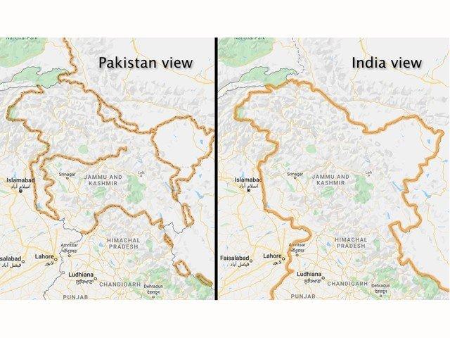 Kašmir v Indiji in Pakistanu