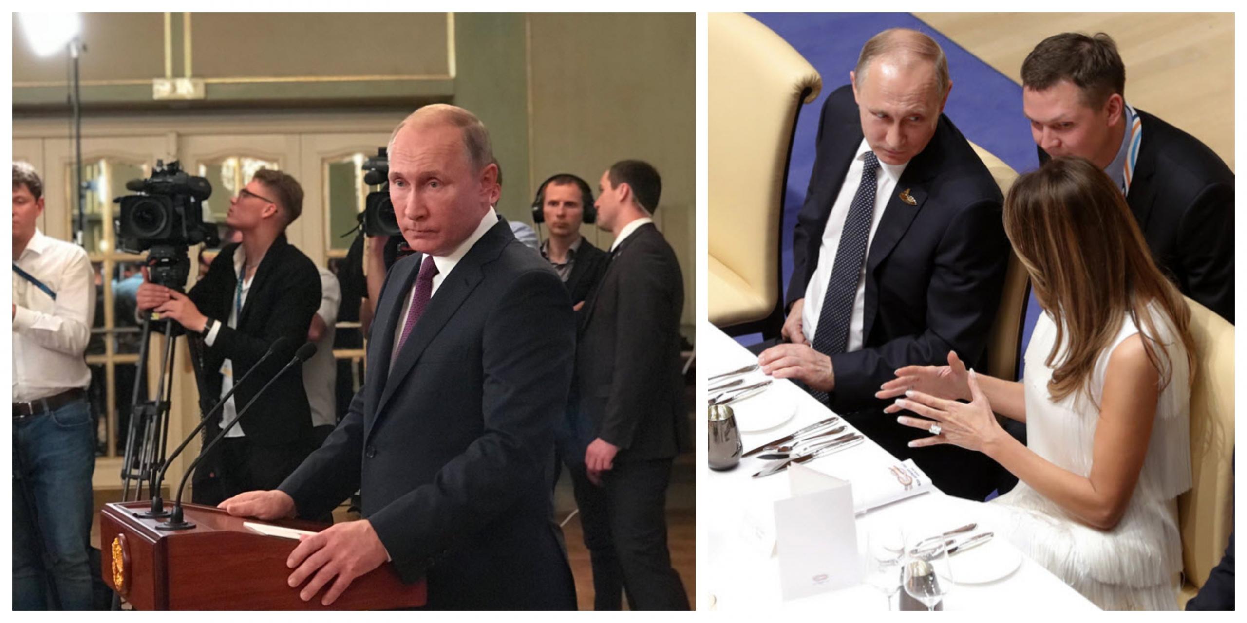Putin na novinarski konferenci po vrhu G20 in na slavnostni večerji Vir: Pixsell