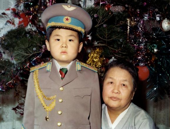 Kim Jong Un - otrok
