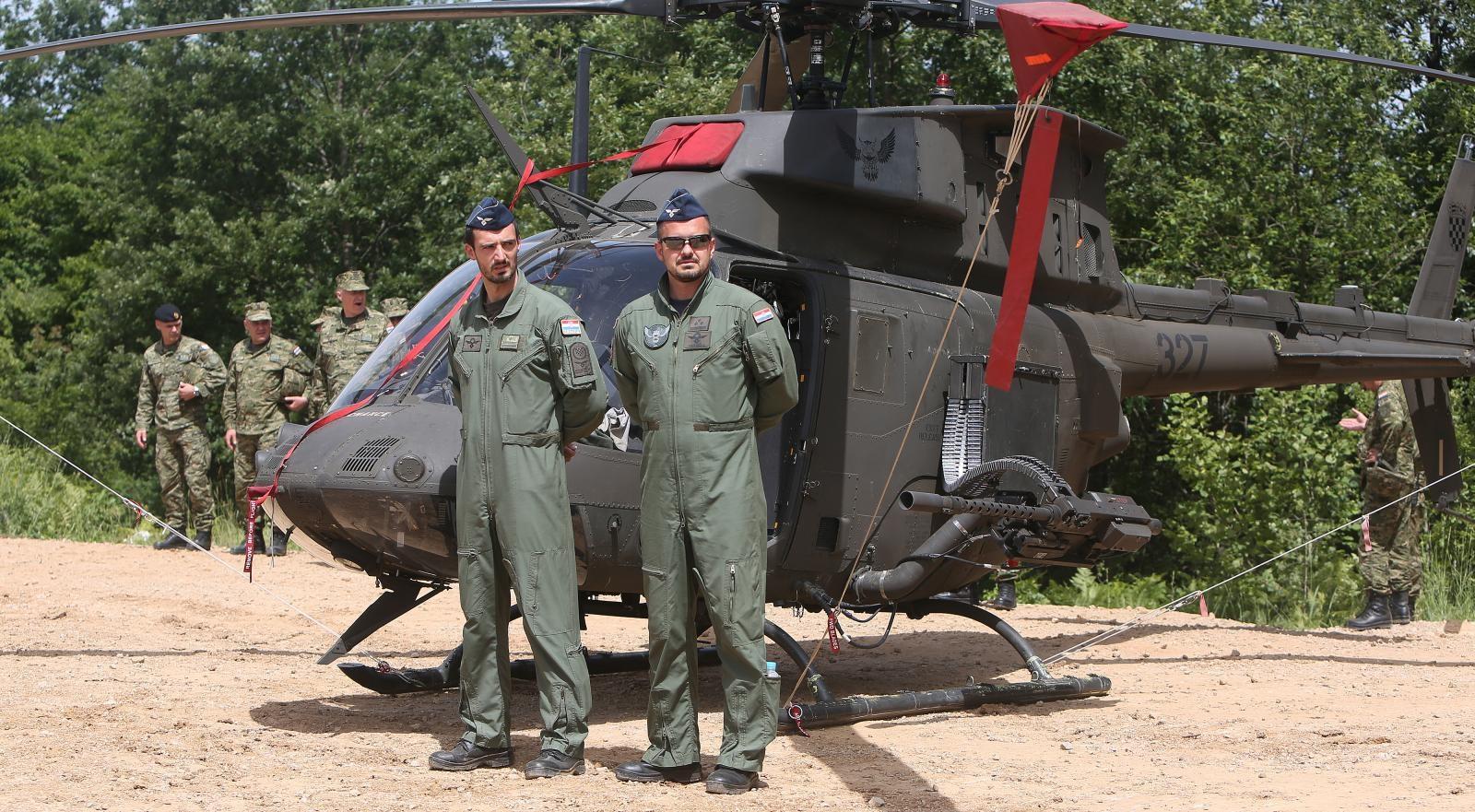 Helikopter Kiowa Krvaške vojske Vir:Pixell