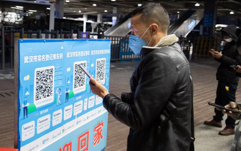 Kitajska je za spremljanje koronavirusa uvedla QR kode