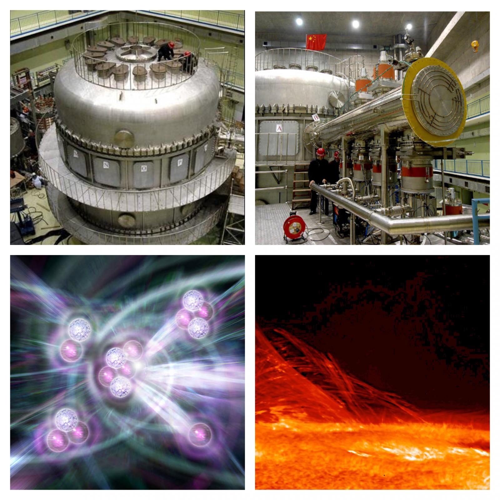 Kitajski EAST, fuzija, Sonce Vir: EAST in NASA