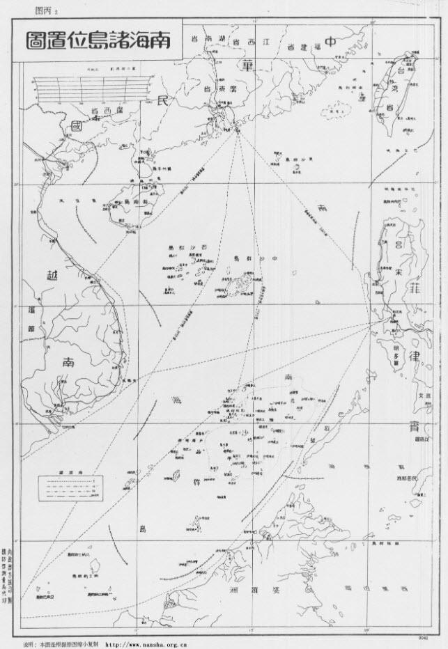 Stari kitajski zemljevid