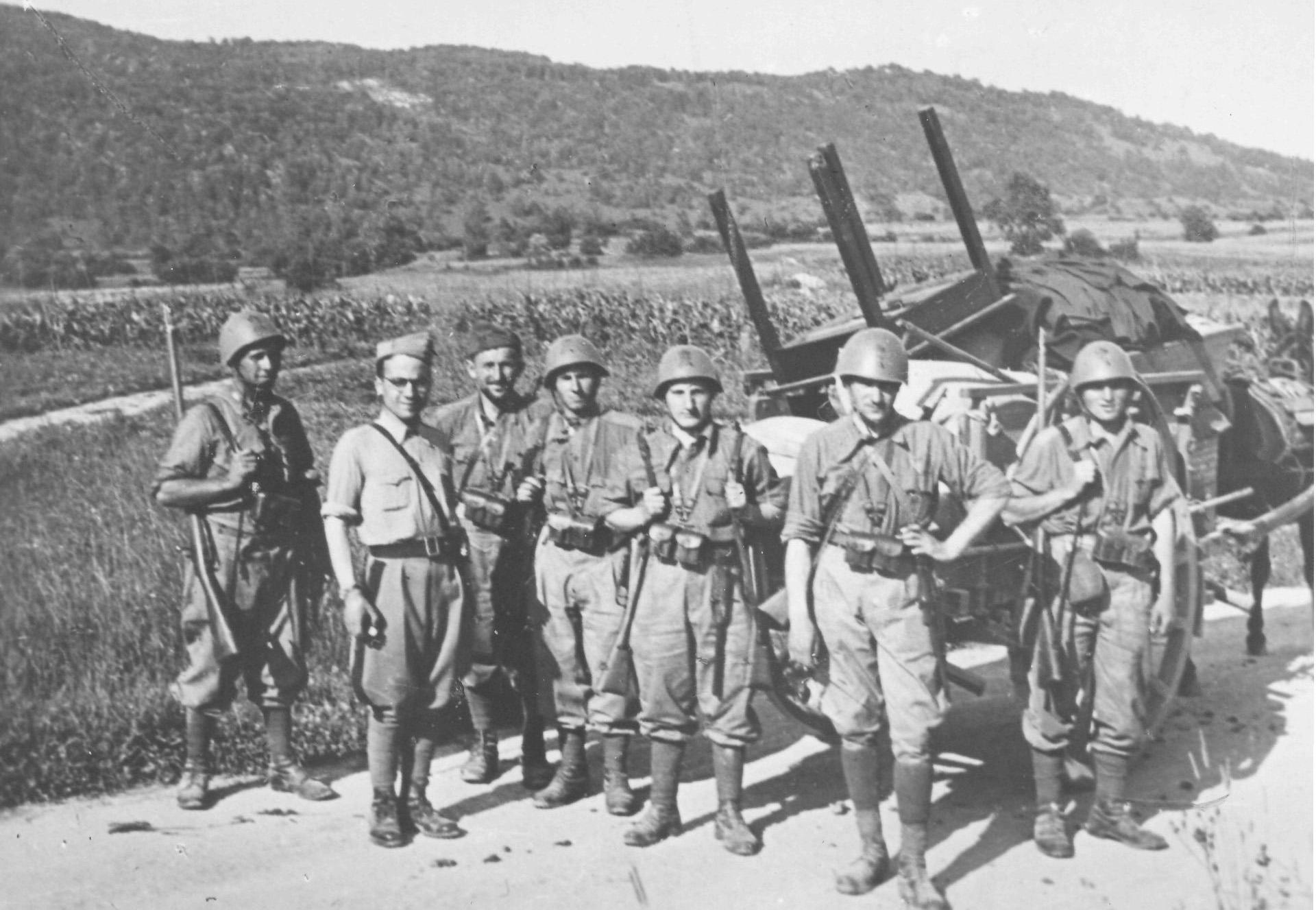 Italijanska vojska med krajo na Kočevskem