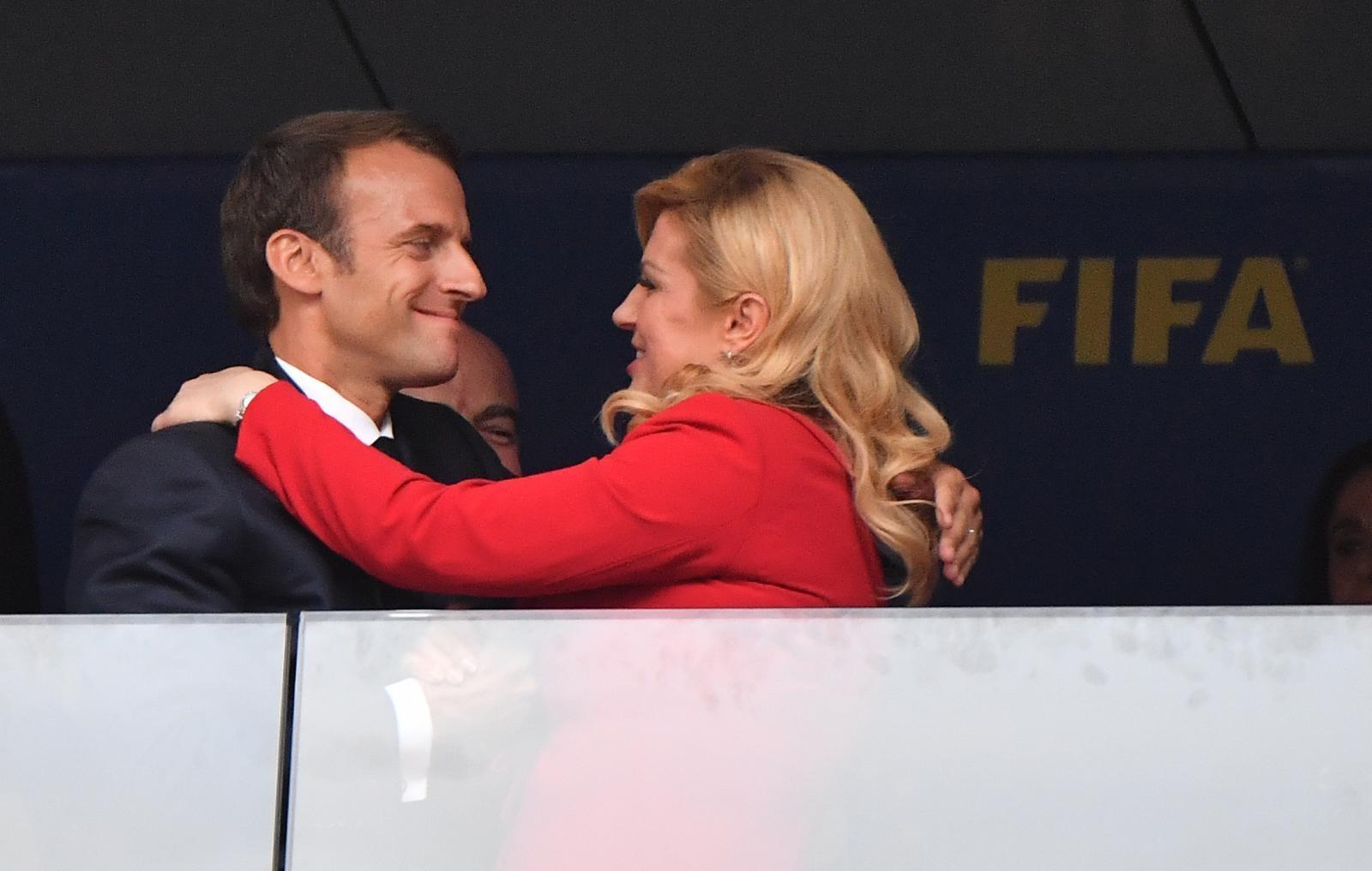 Kolinda in Macron