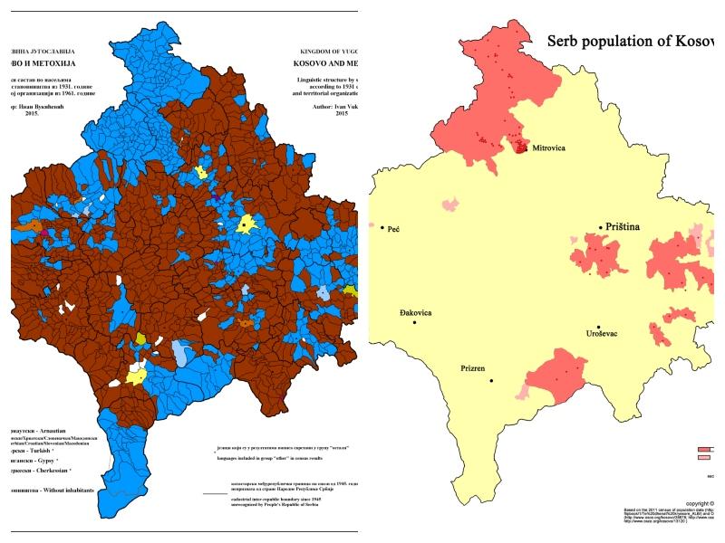 Kosovo 1931 - 2011