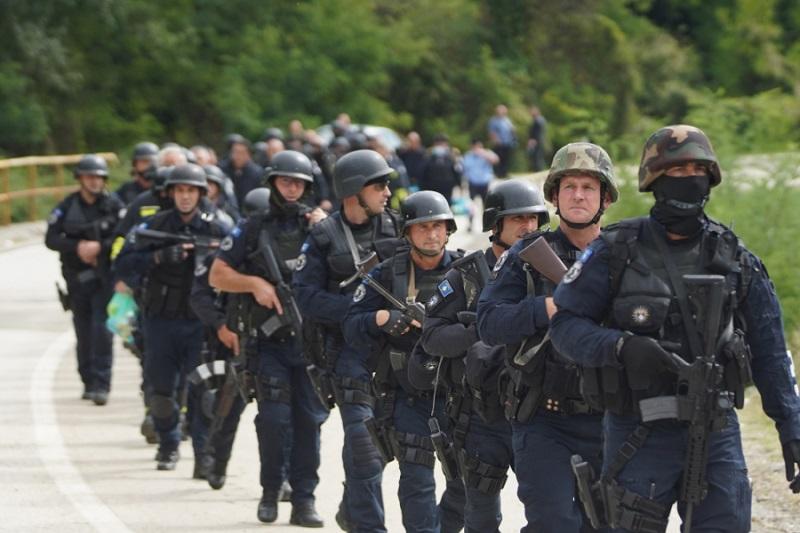 Kosovska policija VIr: Twitter