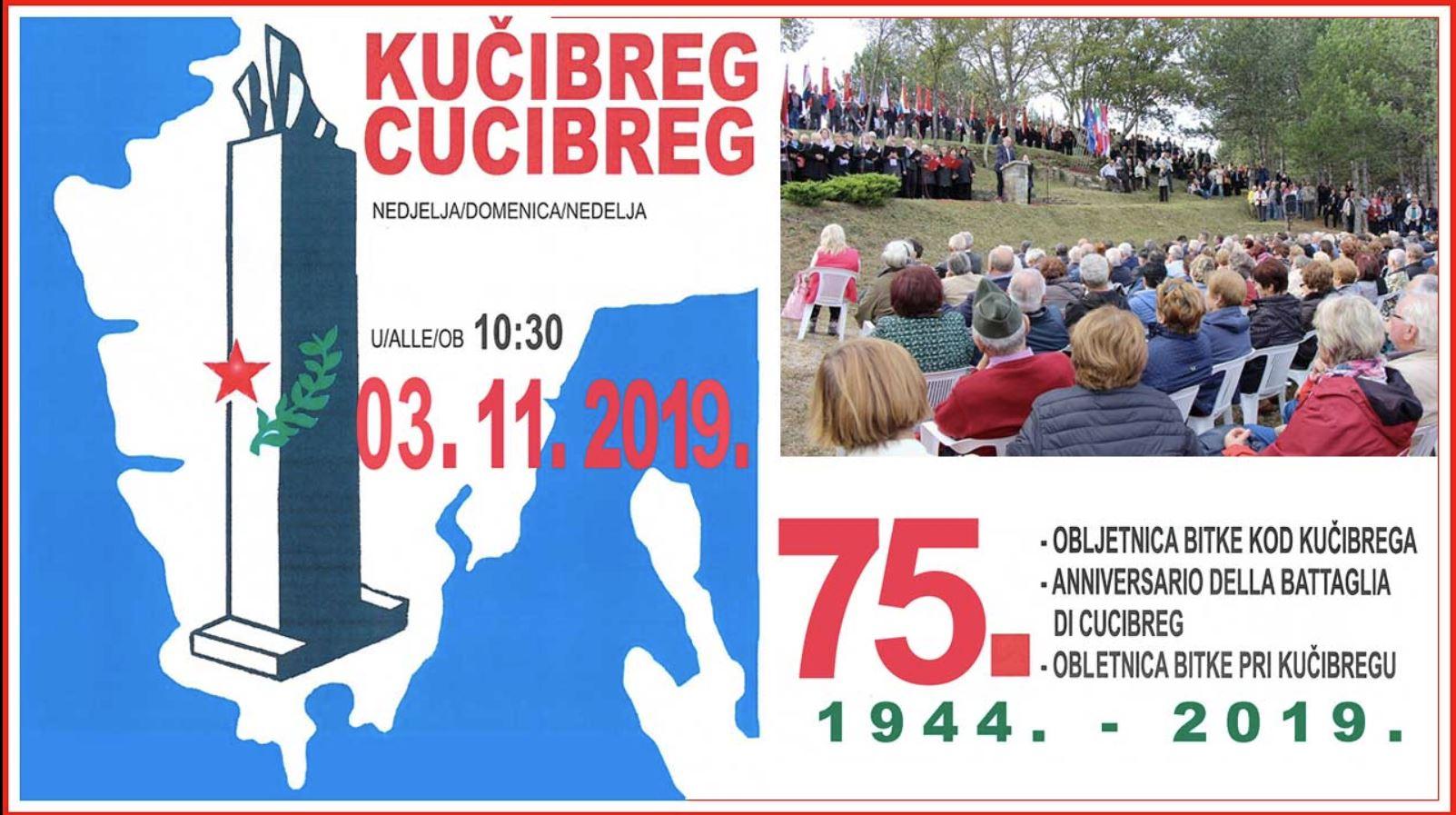 Kučibreg, spominska slovesnost - plakat