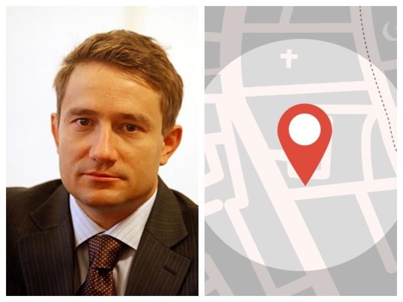 Miha Kunič in lokacija