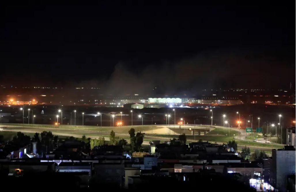 Letališče Erbil  Vir: Twitter