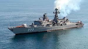 Iranska ladja - zadetek lastne vojske