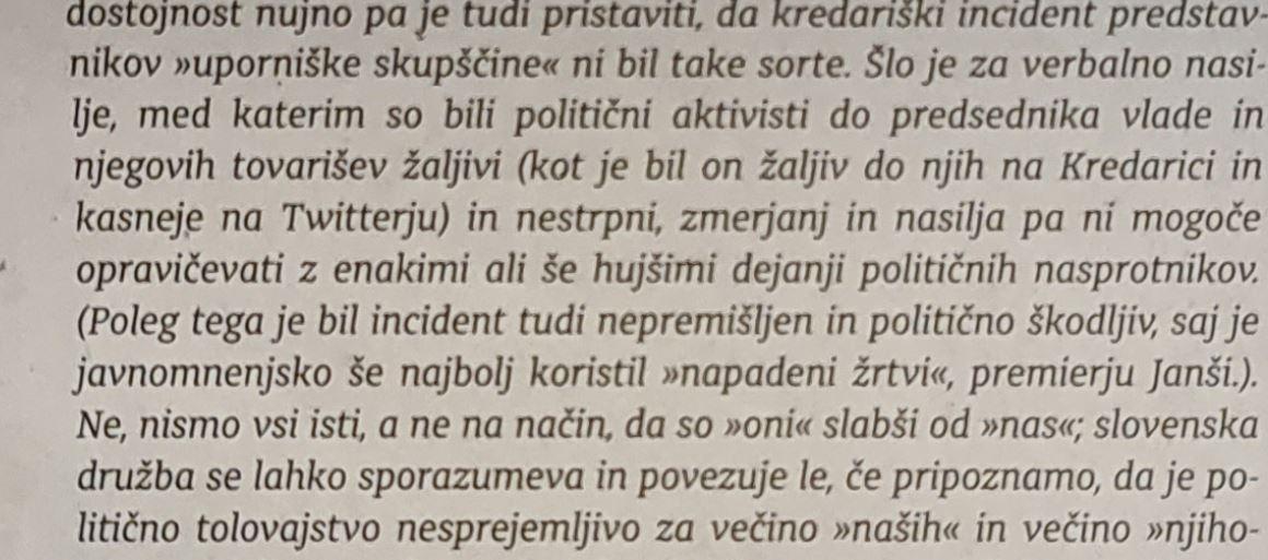 Lesjak - komentar Kredarice