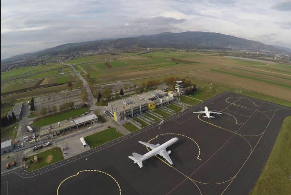 Letališče Edvarda Rusjana Vir: Lokalec.si