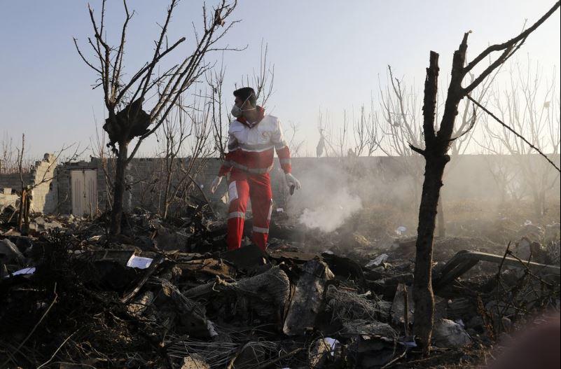 Letališče v Teheranu - padec ukrajinskega Boeinga 737-800