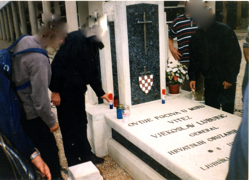 Grob Maksa Luburića - Valencia