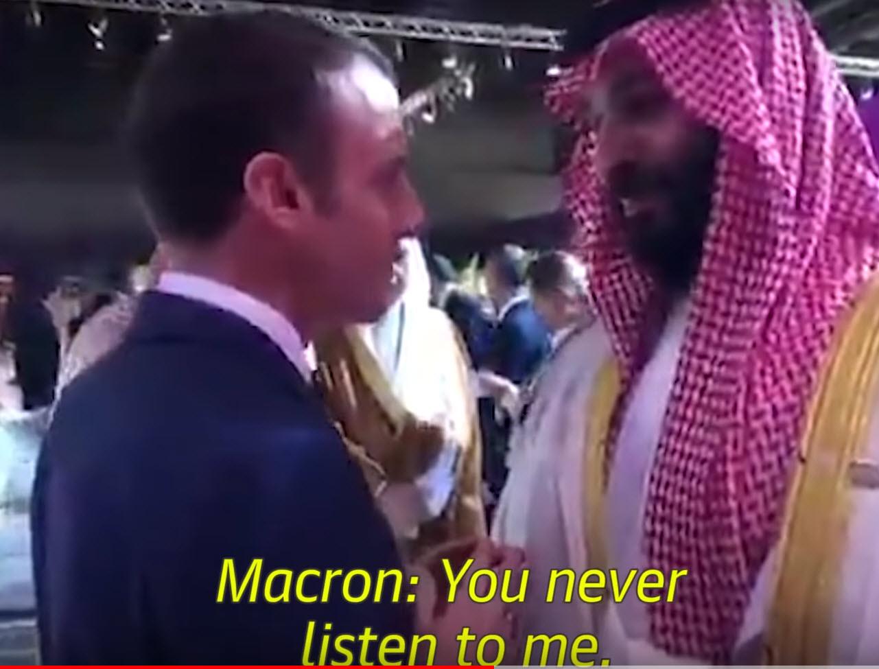 Macron: Nikoli me ne poslušaš ...